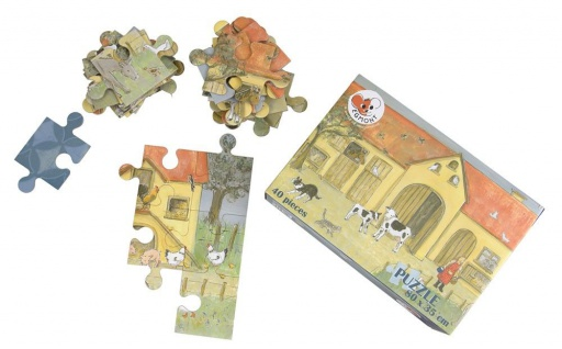 Bodenpuzzle Bauernhof, 40 Teile