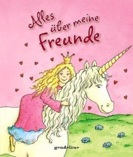 Kinderbuch, Eintragbücher - Alles über meine Freunde (Prinzessin)