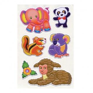 3D Sticker Elefant