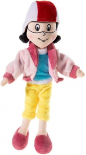 Bibi Blocksberg Plüschfigur Karla Kolumna Puppe mit Sound 32 cm
