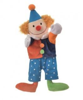 Handpuppe Clown, 30 cm
