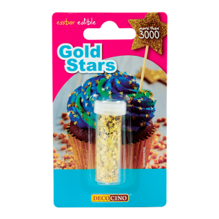 Streudekor Gold Stars