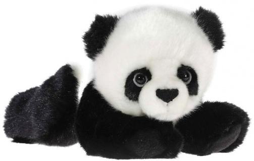 MI CLASSICO Baby Panda Bär, liegend, Länge 23 cm