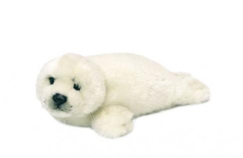 Plüschtier WWF Robbe, Grösse 24cm weiss