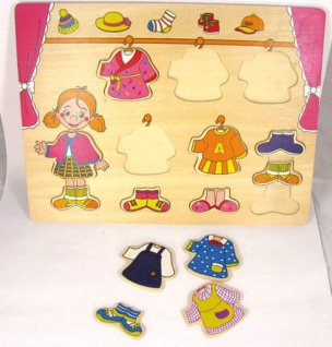 Puzzle Kleiderschrank, Estila 12-teilig