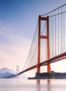 Vlies Fototapete Xihou Brücke China