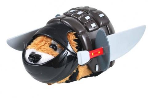 Ninja Hamster Kampfausrüstung Dark Jonin