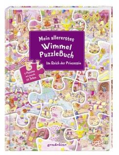 Mein allererstes WimmelPuzzleBuch - Prinzessin