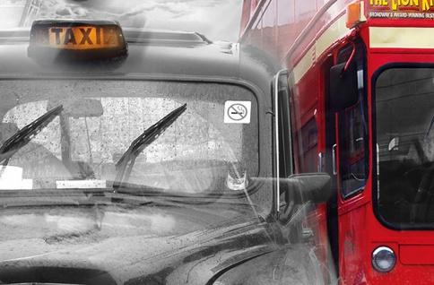 XXL Poster London, Taxi und Bus - Vorschau 5