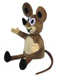 Handpuppe Maus aus der TV-Serie Der kleine Maulwurf, Grösse 40 cm