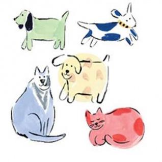 Wandaufkleber Wallies Motiv-Sticker (Cutouts) Jenny s Cats and Dogs