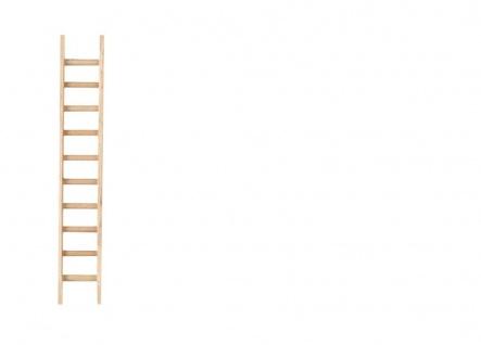Leiter, Holzminiatur, für Hobby- und Modellbau