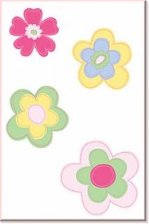 Wandaufkleber Wallies Motiv-Sticker (Cutouts) Pretty Stitches