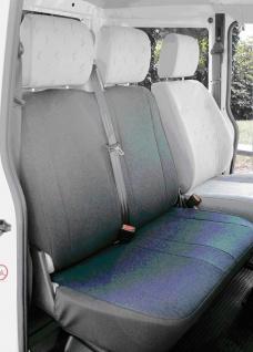 Autositz-Bezug VW T5, vorne, Doppelbank