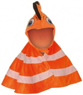 Karneval Cape Clownfisch, für Kinder