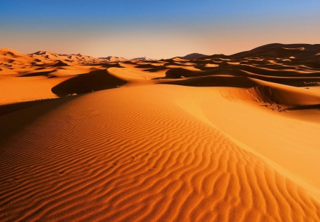 Vlies Fototapete Wüste mit Dünen
