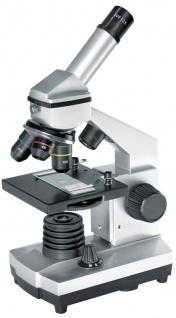 JUNIOR Biolux CA 40x-1024x Mikroskop inkl. Smartphone Halterung