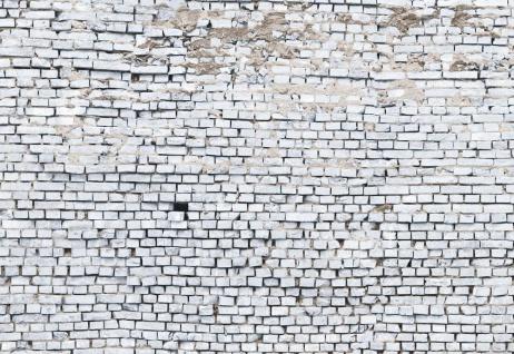 Fototapete White Brick