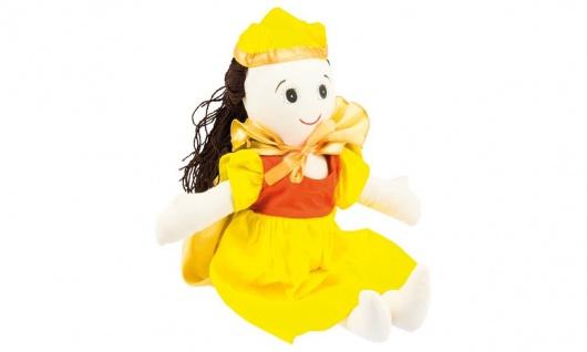 Stoffpuppe Kuschelfreund Prinzessin