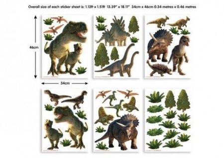 Walltastic Mini Kit Dinosaurier Land