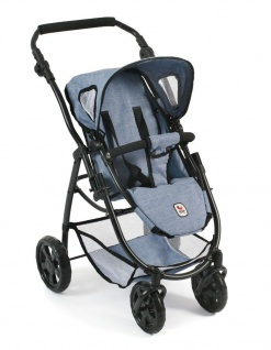 Kombipuppenwagen, 3 in 1 Emotion ALL IN, Jeans blue