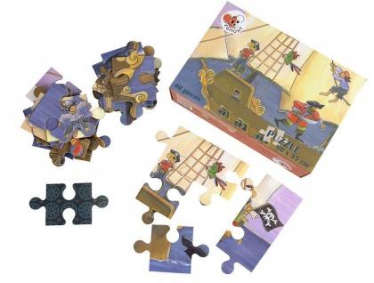 Bodenpuzzle Piraten, 40 Teile