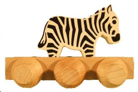 Laufteil für DREWA Kugelbahnen, Dschungeltier - Zebra