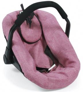 Puppen-Autositz, Jeans pink