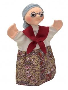 Handpuppe Großmutter, 27 cm