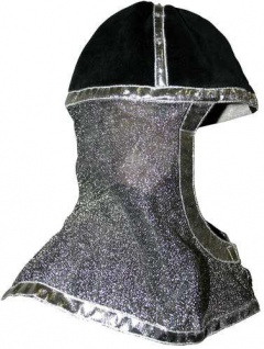 Ritterhelm für Ritter und Könige Farbe silber - Vorschau 1