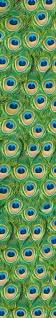 Wandtattoo Edles Vogel Strauß Muster, selbstklebend