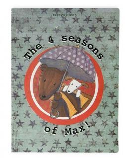 Die vier Jahreszeiten von Max, Magnet-Bilderbuch