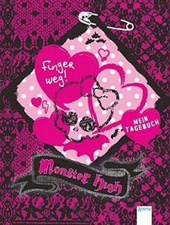 Monster High Tagebuch mit 160 Seiten