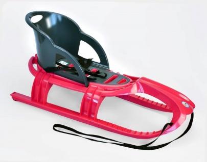 Schlitten Snow Tiger Comfort pink - Rodel, Schneefahrzeug