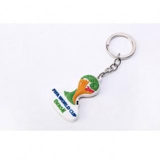 PVC Schlüsselanhänger Offizielles Emblem Fussball WM 2014