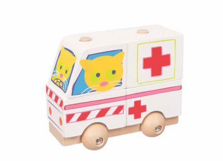 Steckspiel Krankenwagen