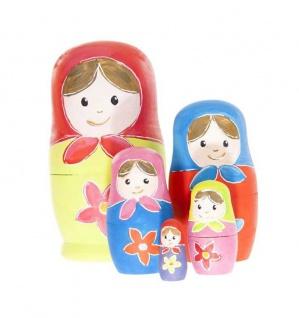 Matroschka-Puppen zum Anmalen