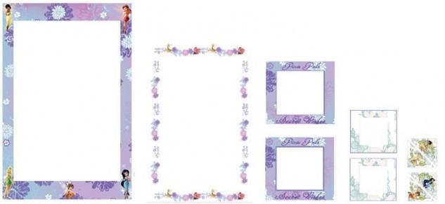 Sticker-Rahmen Fairies 6 Rahmen