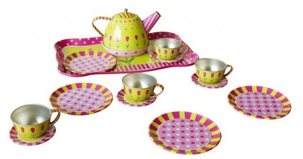 Kinder-Tee-Set, Puppengeschirr, 15-teilig