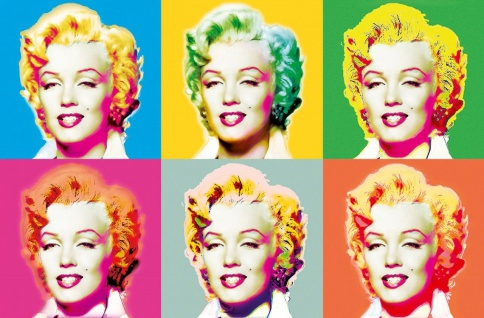 XXL Poster Kunst Pop Art, Marilyn Monroe
