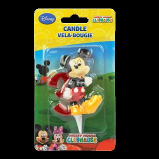 Kuchenkerze 3D Mickey, Zahl 3