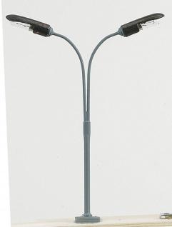 Peitschenlampe Spur H0, 2 flammig, 110mm