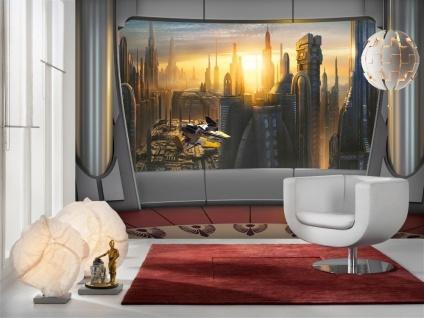 Fototapete Star Wars Coruscant View