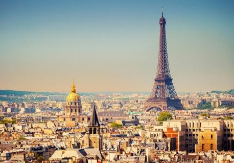 Vlies Fototapete Paris, Eiffelturm