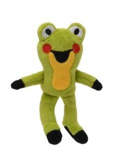 Fingerpuppe Frosch, 10cm, aus den Geschichten mit dem kleinen Maulwurf