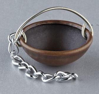 Kupferkessel für Krippen, Hobby- und Modellbau, 10 mm ohne Kette
