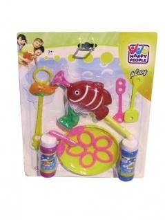 Jumbo Seifenblasen Set Mit vielem Zubehör