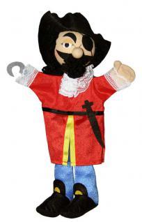 HANDPUPPE Captain Hook von Trullala,