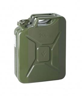 Stahlblech-Benzinkanister, grün, 20L