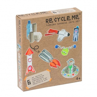 Re-Cycle-Me Themenbox Weltraum - Bastelset Re-Cycle-Me